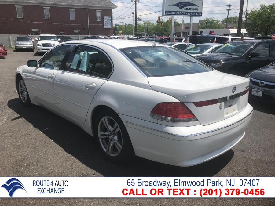 2004 BMW 7 Series 745Li 4dr Sdn, available for sale in Elmwood Park, New Jersey | Route 4 Auto Exchange. Elmwood Park, New Jersey