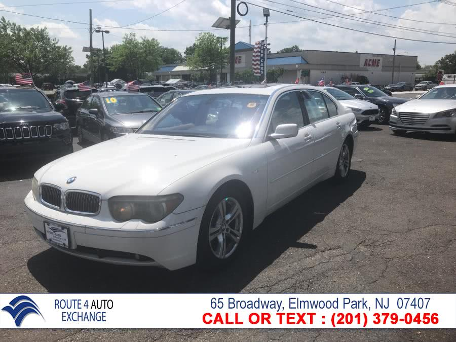 2004 BMW 7 Series 745Li 4dr Sdn, available for sale in Elmwood Park, NJ