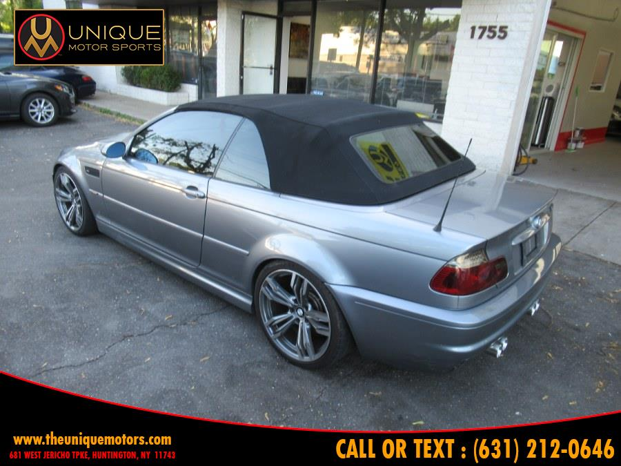 2004 BMW 3 Series M3 2dr Convertible, available for sale in Huntington, New York | Unique Motor Sports. Huntington, New York