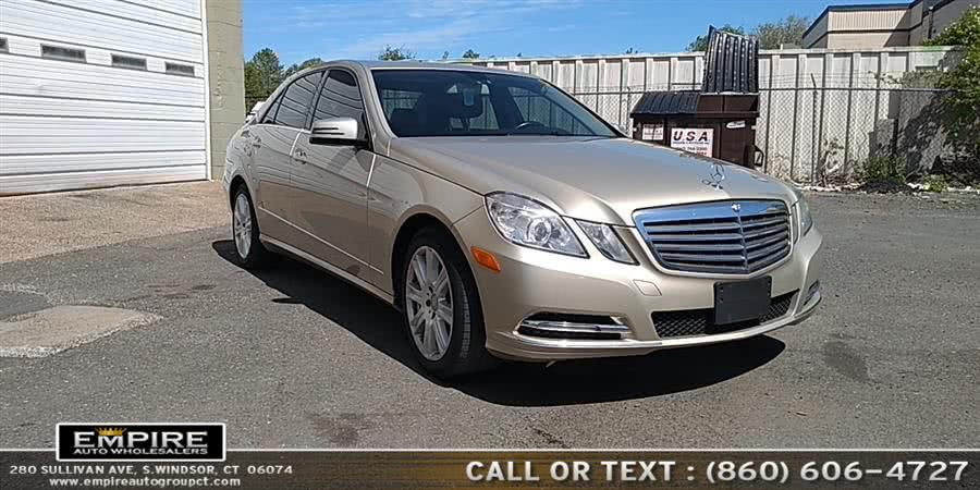 Used Mercedes-Benz E-Class 4dr Sdn E350 Luxury 4MATIC *Ltd Avail* 2013 | Empire Auto Wholesalers. S.Windsor, Connecticut