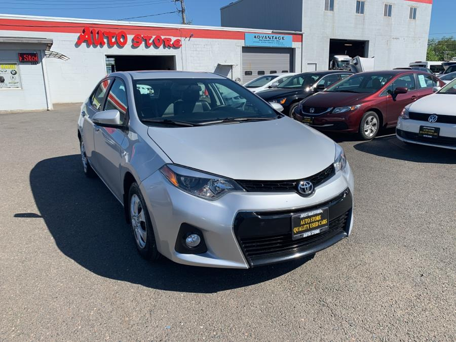 Used Toyota Corolla 4dr Sdn CVT S (Natl) 2015   Auto Store. West Hartford, Connecticut