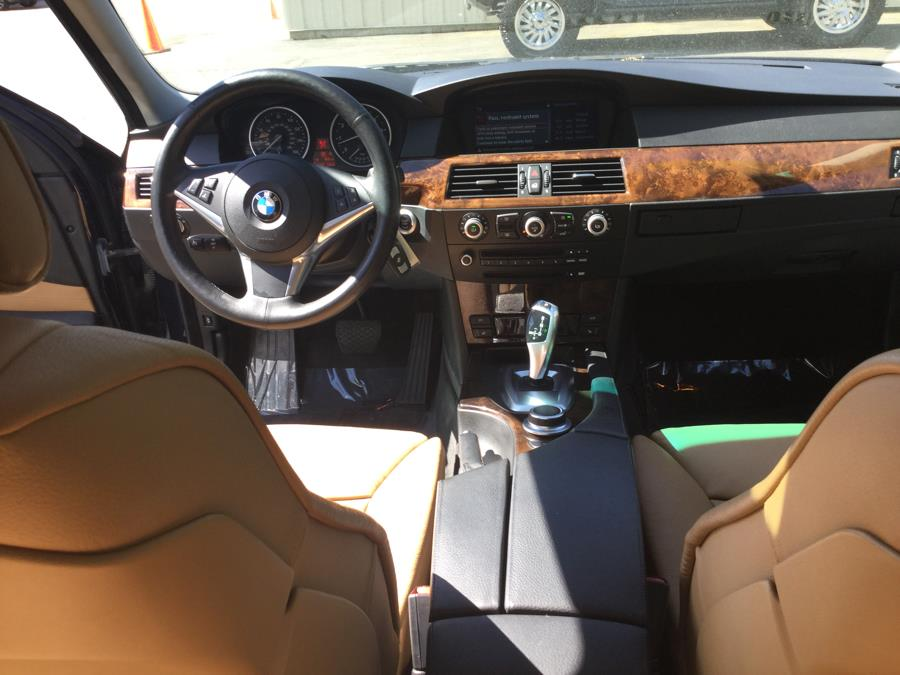 2008 BMW 5 Series 4dr Sdn 535xi AWD, available for sale in Plantsville, Connecticut | L&S Automotive LLC. Plantsville, Connecticut