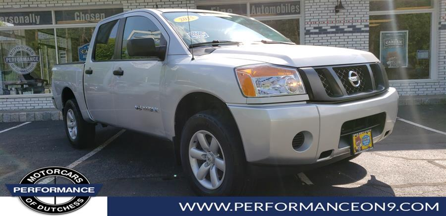 2015 Nissan Titan 4WD Crew Cab SWB PRO-4X, available for sale in Wappingers Falls, New York | Performance Motorcars Inc. Wappingers Falls, New York