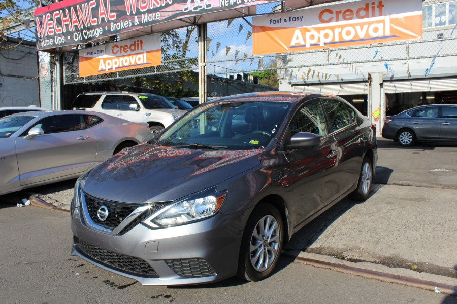 2016 Nissan Sentra 4dr Sdn I4 CVT SV, available for sale in Brooklyn, New York | Rubber Bros Auto World. Brooklyn, New York