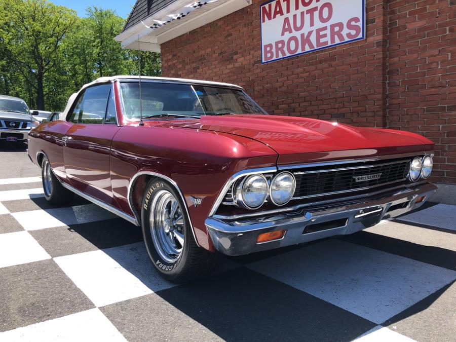 1966 Chevrolet Chevelle SS Tribute Car, available for sale in Waterbury, Connecticut | National Auto Brokers, Inc.. Waterbury, Connecticut