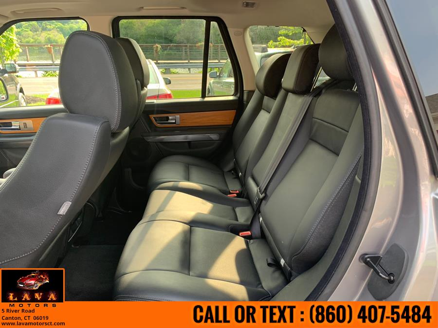 2011 Land Rover Range Rover Sport 4WD 4dr HSE, available for sale in Canton, Connecticut | Lava Motors. Canton, Connecticut