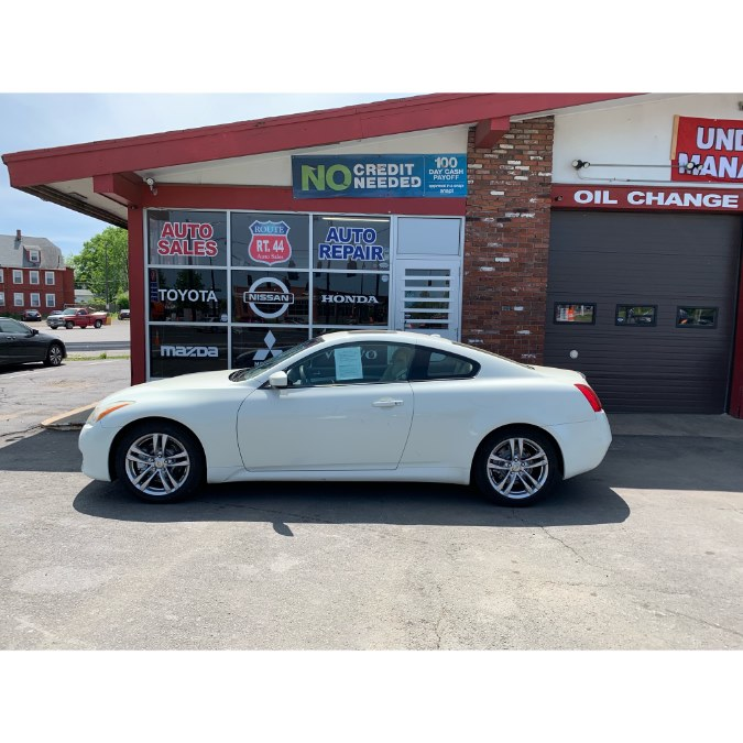 2008 Infiniti G37 Coupe 2dr Journey, available for sale in Hartford, Connecticut   Route 44 Auto Sales & Repairs LLC. Hartford, Connecticut