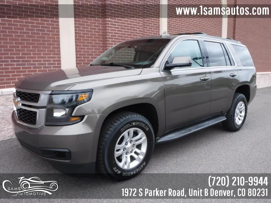 Used 2015 Chevrolet Tahoe in Denver, Colorado | Sam's Automotive. Denver, Colorado