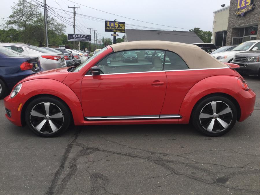 2013 Volkswagen Beetle Convertible 2dr DSG 2.0T w/Sound/Nav PZEV *Ltd Avail*, available for sale in Plantsville, Connecticut | L&S Automotive LLC. Plantsville, Connecticut