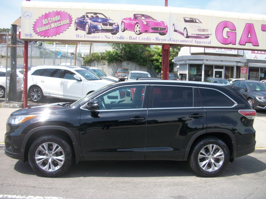 2015 Toyota Highlander AWD 4dr V6 XLE (Natl), available for sale in Jamaica, New York | Gateway Car Dealer Inc. Jamaica, New York