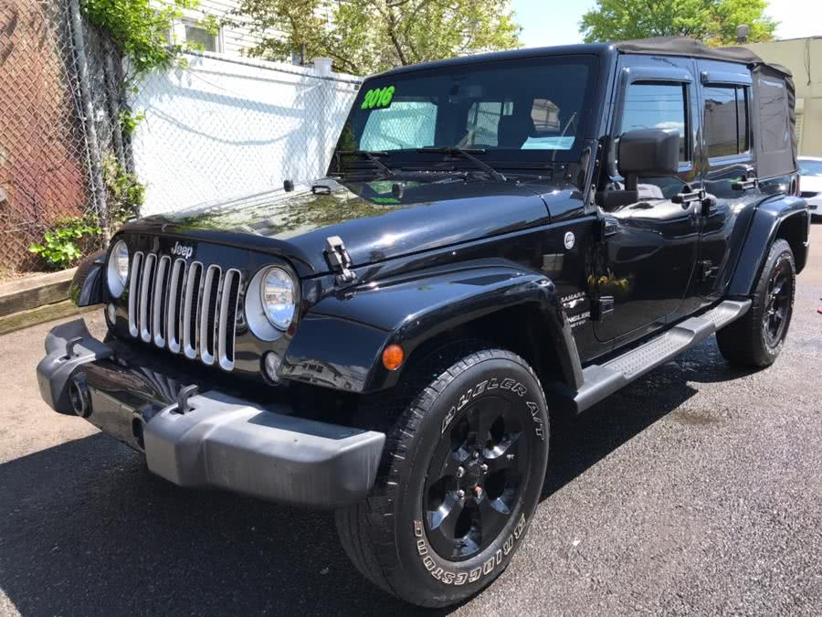 Used 2016 Jeep Wrangler Unlimited in Jamaica, New York | Sunrise Autoland. Jamaica, New York