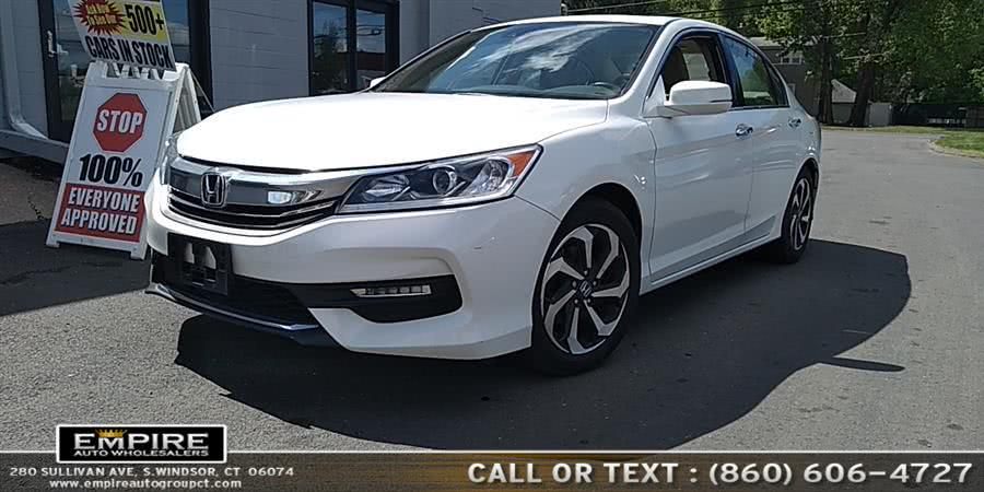 Used Honda Accord Sedan 4dr V6 Auto EX-L w/Navi & Honda Sensing 2016 | Empire Auto Wholesalers. S.Windsor, Connecticut