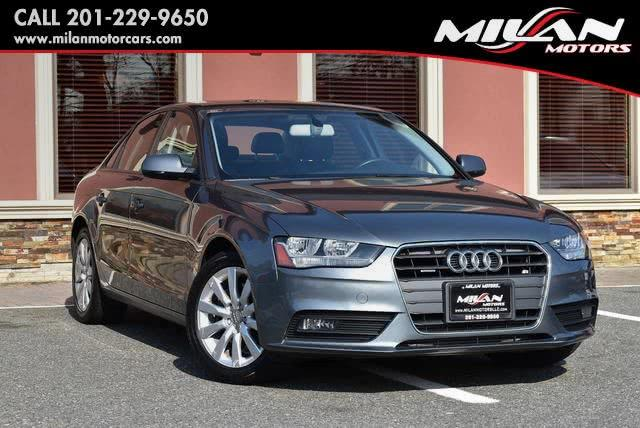 Used Audi A4 4dr Sdn Auto quattro 2.0T Premium 2014 | Milan Motors. Little Ferry , New Jersey