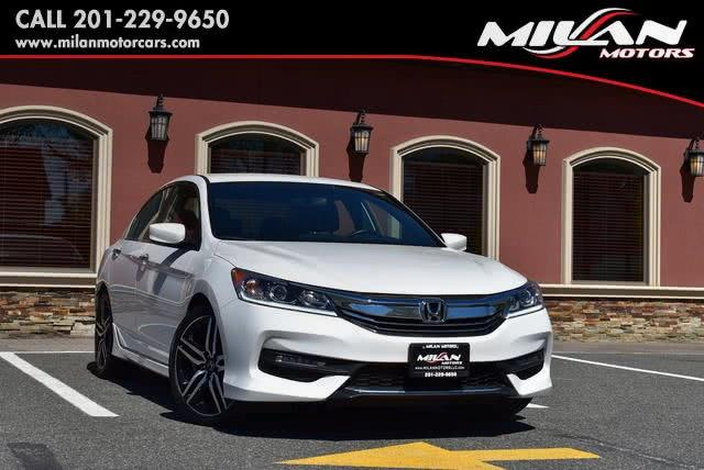 Used Honda Accord Sedan Sport CVT 2017 | Milan Motors. Little Ferry , New Jersey