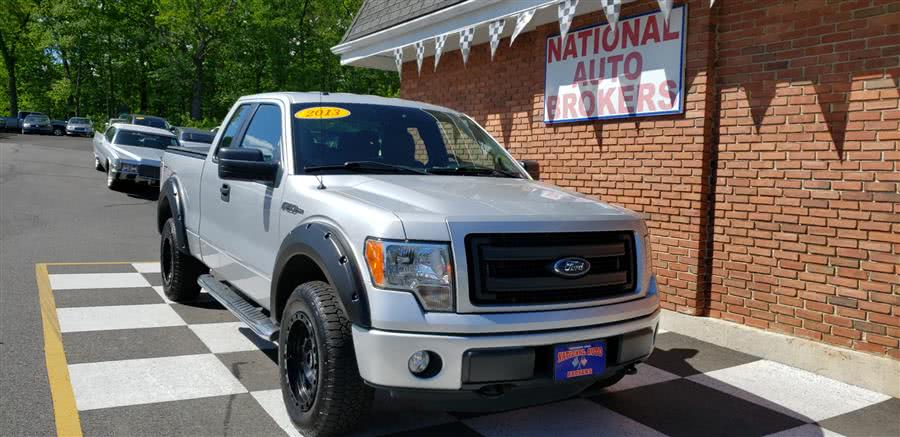 2013 Ford F-150 4WD SuperCab  STX, available for sale in Waterbury, Connecticut | National Auto Brokers, Inc.. Waterbury, Connecticut