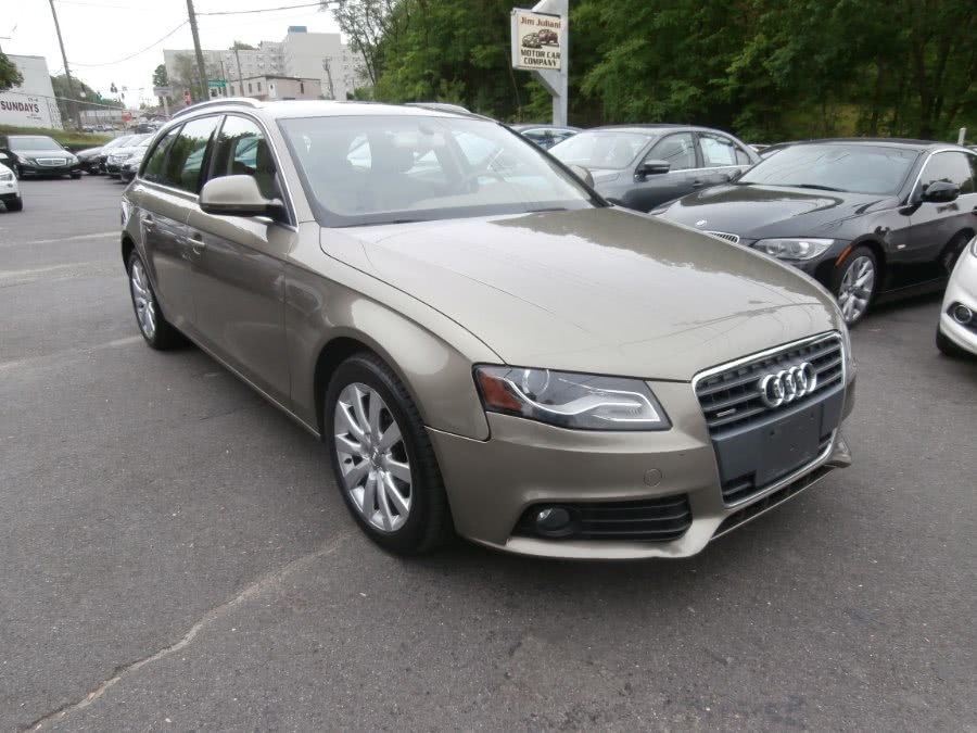 2009 Audi A4 4dr Wgn Auto 2.0T quattro Prem Plus, available for sale in Waterbury, Connecticut | Jim Juliani Motors. Waterbury, Connecticut