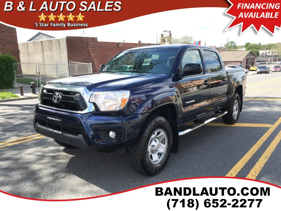 Used Toyota Tacoma 4WD Double Cab V6 2013 | B & L Auto Sales LLC. Bronx, New York