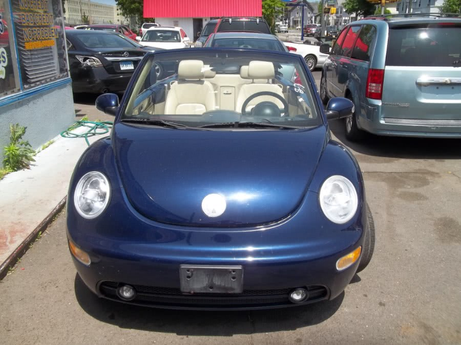 2004 Volkswagen New Beetle Convertible 2dr Convertible GLS Turbo Auto, available for sale in Wallingford, Connecticut | G&M Auto Sales. Wallingford, Connecticut