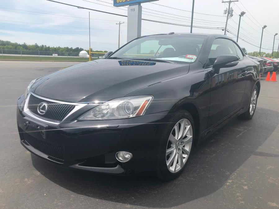 Used Lexus IS 250C Auto 2010 | RH Cars LLC. Merrimack, New Hampshire