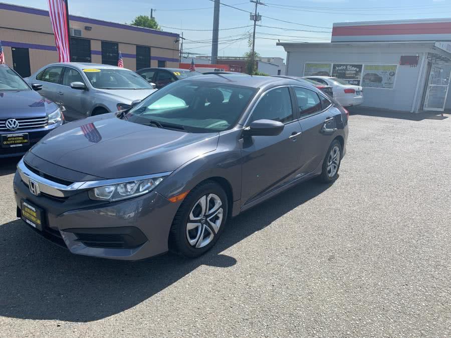 2016 Honda Civic Sedan 4dr CVT LX, available for sale in West Hartford, Connecticut | Auto Store. West Hartford, Connecticut