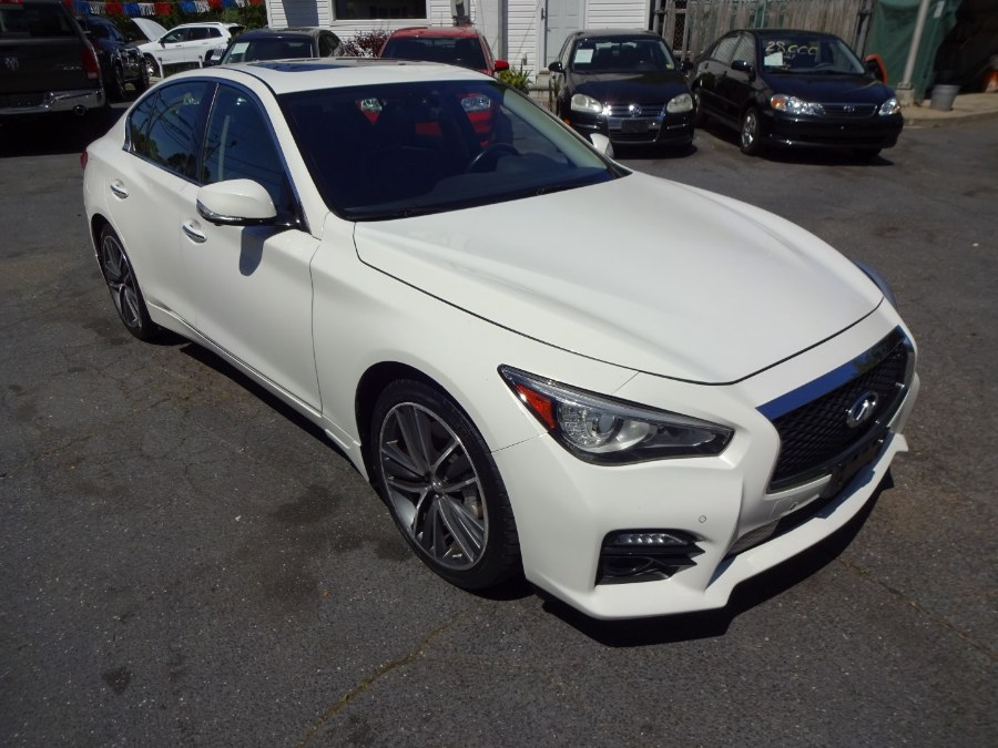 2014 Infiniti Q50 4dr Sdn AWD Sport, available for sale in Islip, New York   Mint Auto Sales. Islip, New York