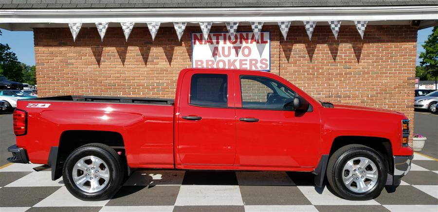 2014 Chevrolet Silverado 1500 4WD Double Cab LT, available for sale in Waterbury, Connecticut | National Auto Brokers, Inc.. Waterbury, Connecticut