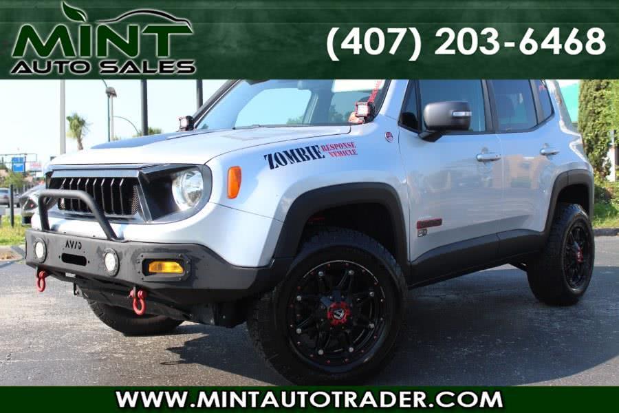 2016 Jeep Renegade Trailhawk 4dr Suv Auto, available for sale in Orlando, FL