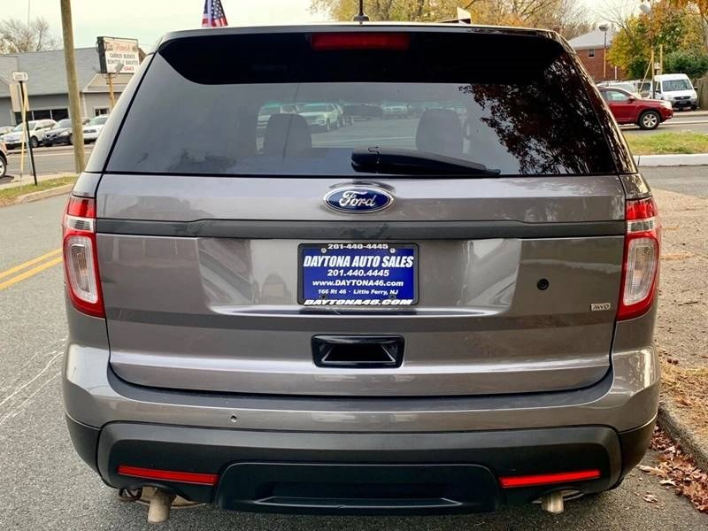 2013 Ford Explorer Utility Police Interceptor AWD 4dr, available for sale in Little Ferry, New Jersey | Daytona Auto Sales. Little Ferry, New Jersey