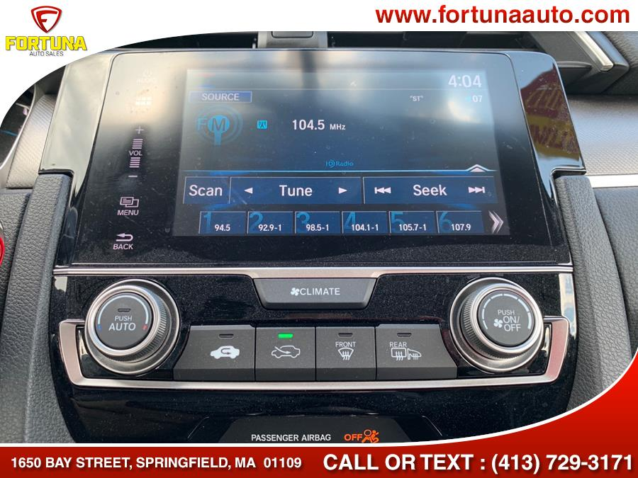 Used Honda Civic Sedan EX CVT 2017 | Fortuna Auto Sales Inc.. Springfield, Massachusetts