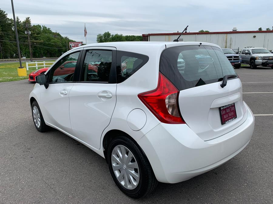 2015 Nissan Versa Note 5dr HB CVT 1.6 SV, available for sale in South Windsor, Connecticut | Mike And Tony Auto Sales, Inc. South Windsor, Connecticut