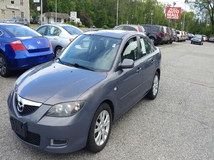 Used Mazda Mazda3 4dr Sdn Man i Touring *Ltd Avail 2008 | Matts Auto Mall LLC. Chicopee, Massachusetts