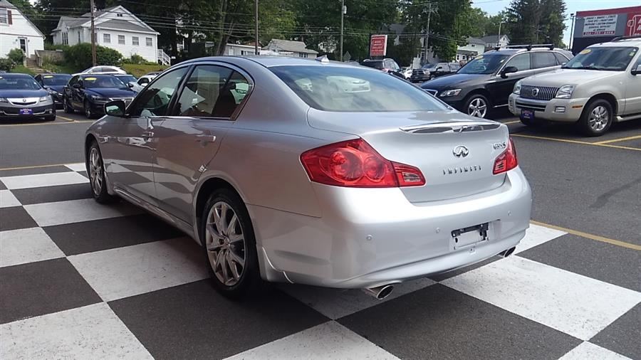 2013 Infiniti G37 Sedan Sport 4dr x AWD, available for sale in Waterbury, Connecticut | National Auto Brokers, Inc.. Waterbury, Connecticut
