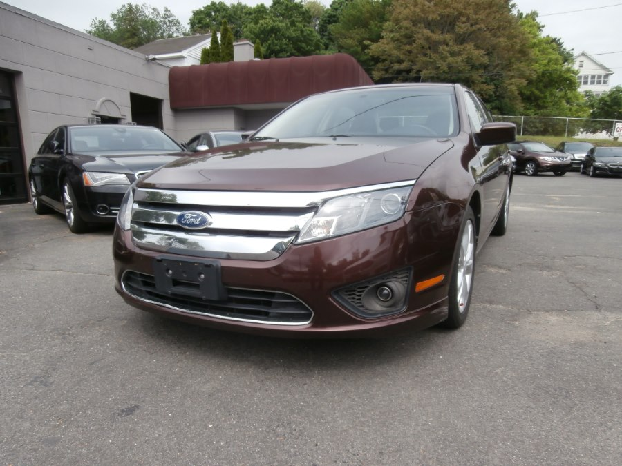 2012 Ford Fusion 4dr Sdn SE FWD, available for sale in Waterbury, Connecticut | Jim Juliani Motors. Waterbury, Connecticut