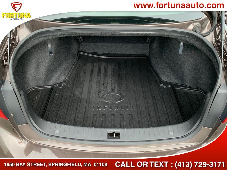 Used INFINITI Q50 4dr Sdn 3.0t Premium AWD 2016 | Fortuna Auto Sales Inc.. Springfield, Massachusetts