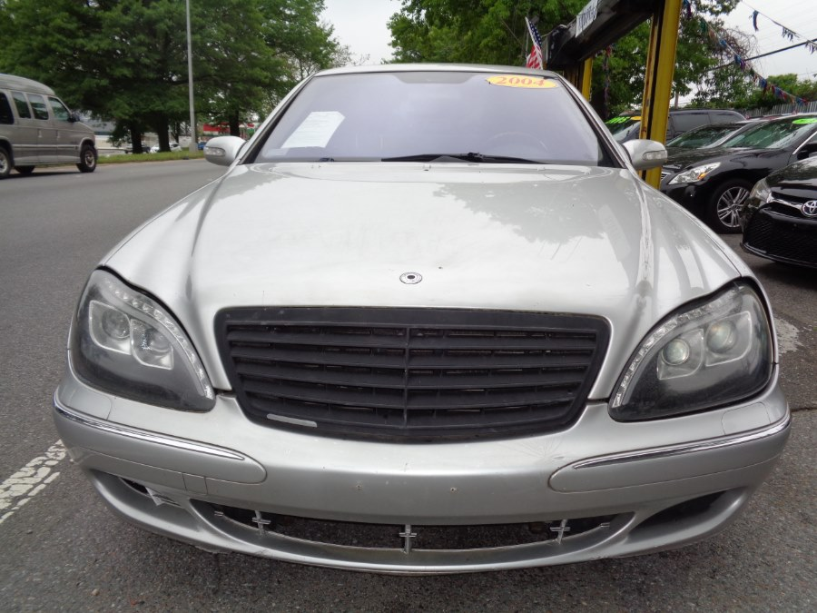 2004 Mercedes-Benz S-Class 4dr Sdn 4.3L 4MATIC, available for sale in Rosedale, New York | Sunrise Auto Sales. Rosedale, New York
