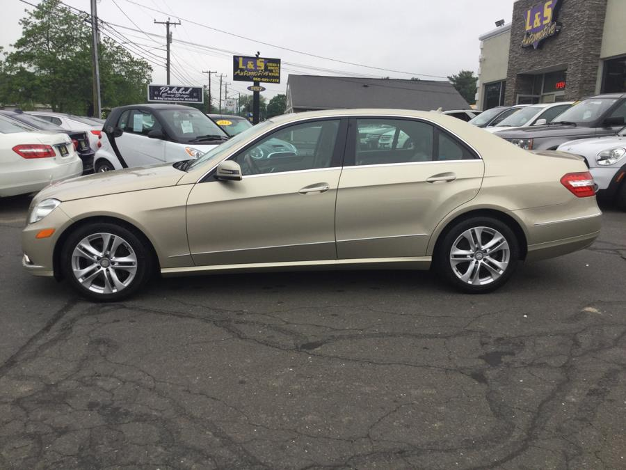2010 Mercedes-Benz E-Class 4dr Sdn E 350 Luxury 4MATIC, available for sale in Plantsville, Connecticut | L&S Automotive LLC. Plantsville, Connecticut