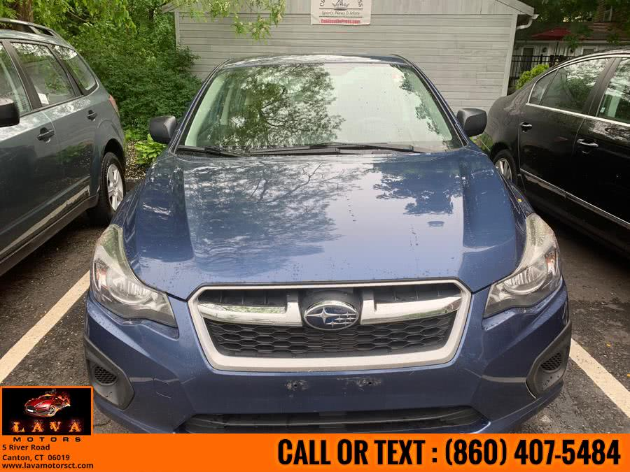 Used 2012 Subaru Impreza Sedan in Canton, Connecticut | Lava Motors. Canton, Connecticut