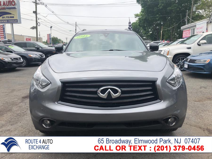 2015 INFINITI QX70 AWD 4dr, available for sale in Elmwood Park, New Jersey | Route 4 Auto Exchange. Elmwood Park, New Jersey