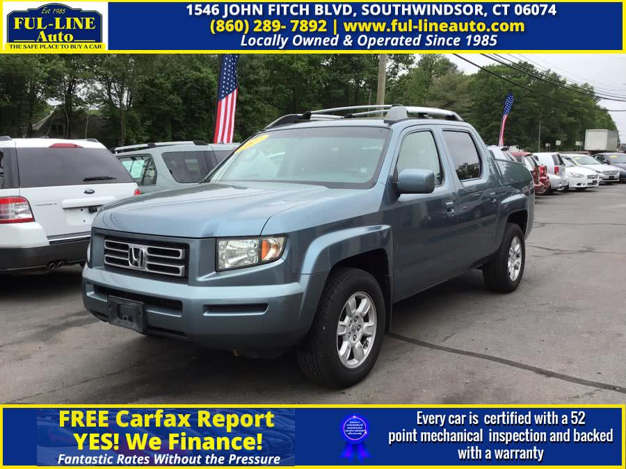 Used Honda Ridgeline 4WD Crew Cab RTS 2007 | Ful-line Auto LLC. South Windsor , Connecticut