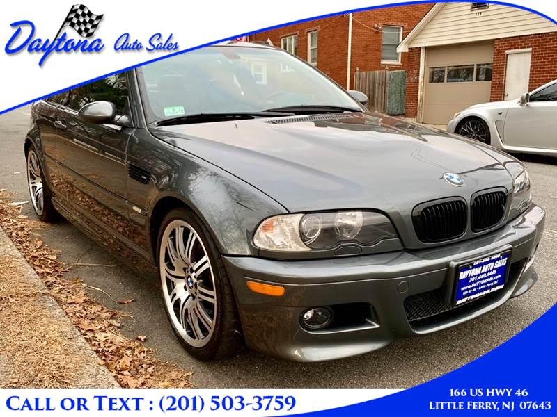 2004 BMW 3 Series M3 2dr Cpe, available for sale in Little Ferry, New Jersey | Daytona Auto Sales. Little Ferry, New Jersey