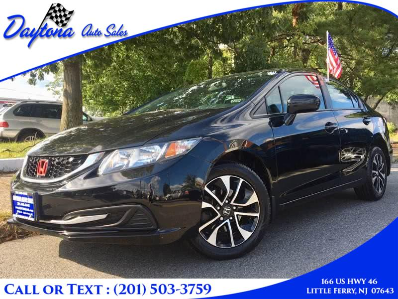 2014 Honda Civic Sedan 4dr CVT EX, available for sale in Little Ferry, New Jersey | Daytona Auto Sales. Little Ferry, New Jersey