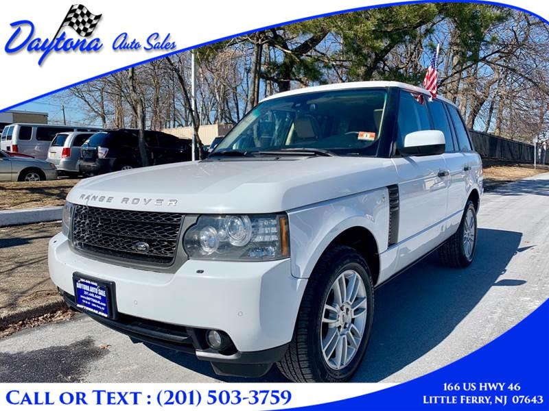 2011 Land Rover Range Rover 4WD 4dr HSE, available for sale in Little Ferry, New Jersey | Daytona Auto Sales. Little Ferry, New Jersey