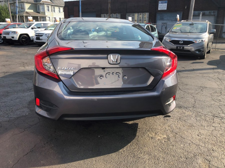 2016 Honda Civic Sedan 4dr CVT LX, available for sale in Bridgeport, Connecticut | Affordable Motors Inc. Bridgeport, Connecticut