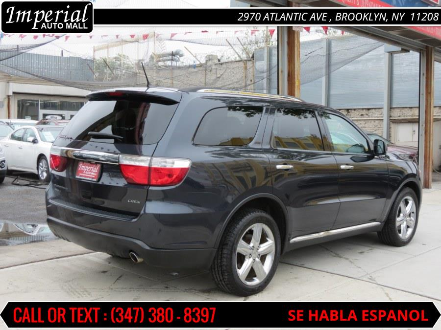 2013 Dodge Durango AWD 4dr Crew, available for sale in Brooklyn, New York | Imperial Auto Mall. Brooklyn, New York