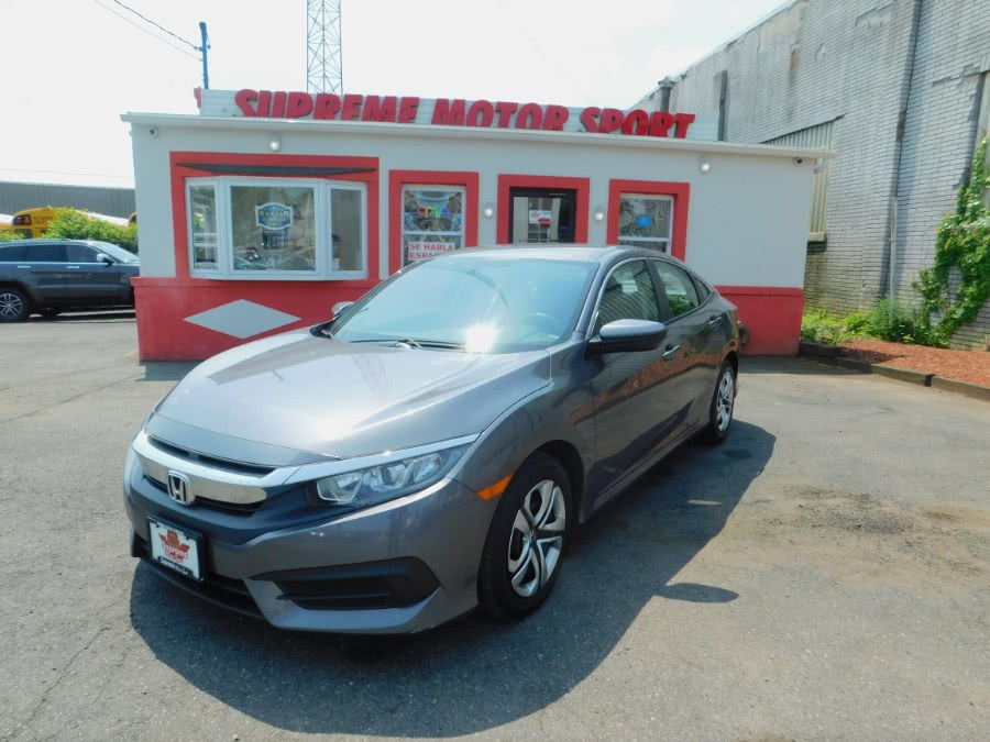 Used 2017 Honda Civic Sedan in Elizabeth, New Jersey | Supreme Motor Sport. Elizabeth, New Jersey
