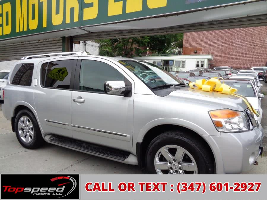 Used 2012 Nissan Armada Platinum Read DVD Entertainment in Jamaica, New York | Top Speed Motors LLC. Jamaica, New York