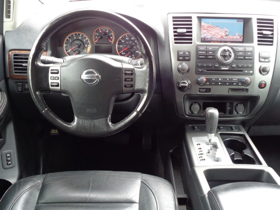 Used Nissan Armada Platinum Read DVD Entertainment Navigation Camera Bluetooth AUX XM Bose 2012 | Top Speed Motors LLC. Jamaica, New York