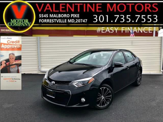 2016 Toyota Corolla S Premium, available for sale in Forestville, MD