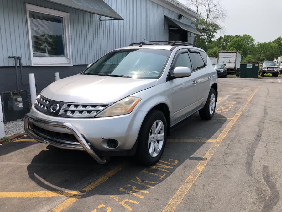 Used Nissan Murano AWD 4dr SE 2007 | RT 3 AUTO MALL LLC. Middletown, Connecticut