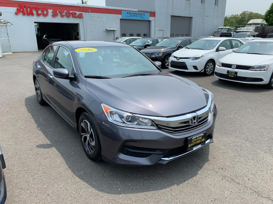 2016 Honda Accord Sedan 4dr I4 CVT LX, available for sale in West Hartford, Connecticut | Auto Store. West Hartford, Connecticut